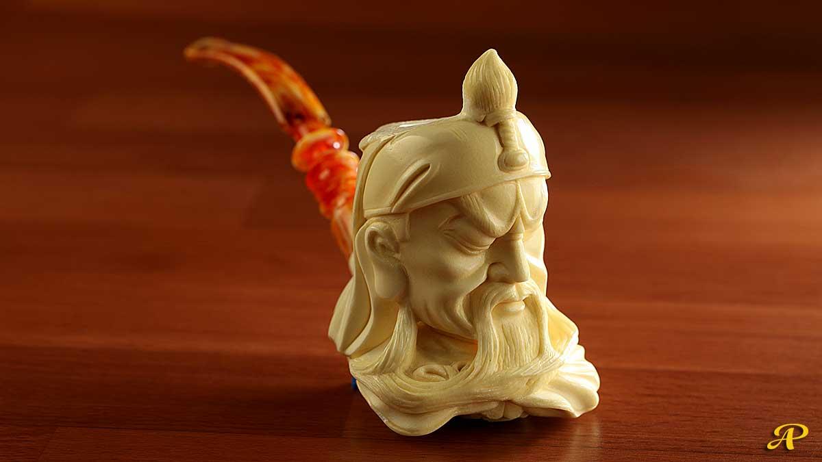 Genghis Khan by Suleyman Coskun